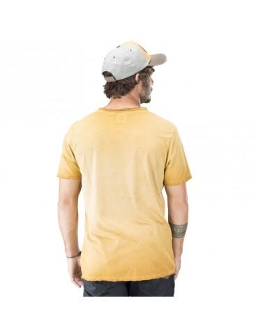 Tee Shirt Homme Von Dutch Fast jaune 2