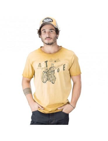 Tee Shirt Homme Von Dutch Fast jaune 3