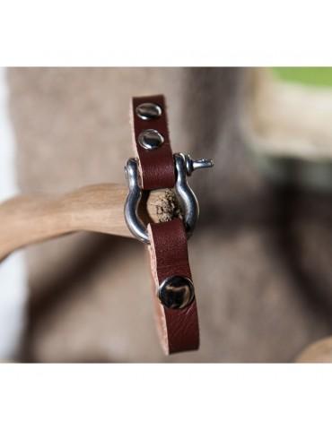 Bracelet cuir homme Acebal DOGME96
