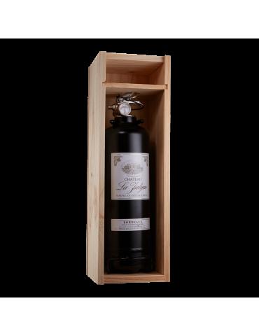 Extincteur design coffret vin noir 2