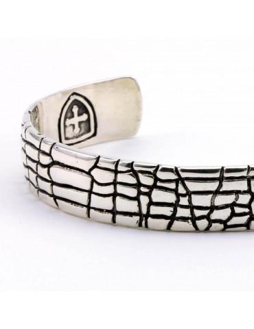 Bracelet Jonc pour homme en argent Casilda marque DOGME96
