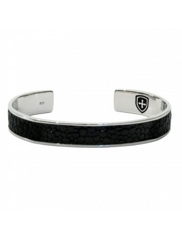 Bracelet Jonc en Argent pour Homme Caballa marque Dogme96