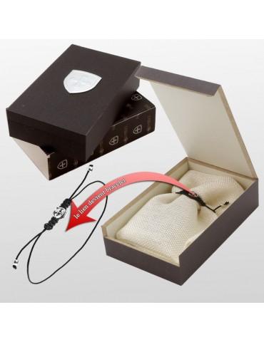 Boite Cadeau Bijoux Bracelet jonc en argent