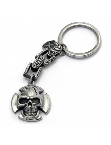 Porte-clés tête de mort concordia DOGME96