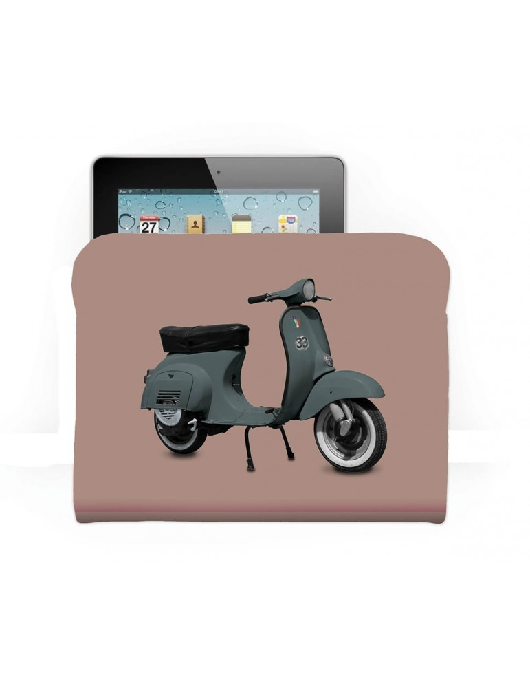 Housse tablette Scooter kaki rose 21x27 COAST AND VALLEY