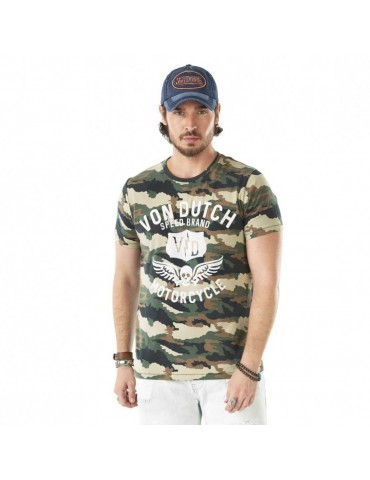 T-shirt homme creator Camouflage