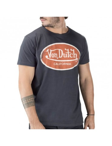 T-shirt homme Aaron gris foncé VON DUTCH 2