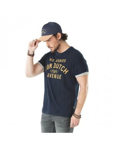 T-shirt Homme Stanley bleu VON DUTCH 1