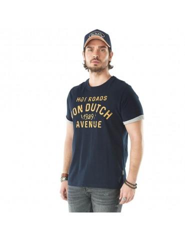 T-shirt Homme Stanley bleu VON DUTCH 2