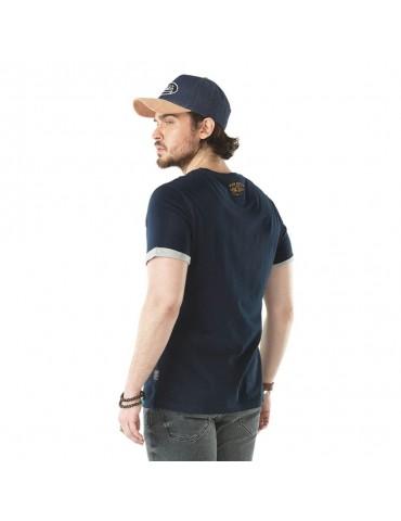 T-shirt Homme Stanley bleu VON DUTCH 3