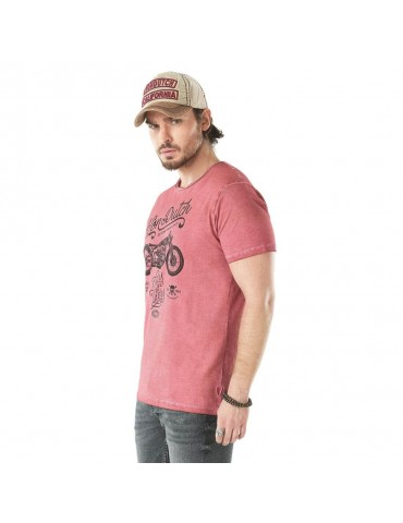 Tee Shirt Homme Cheers rouge vintage VON DUTCH 1
