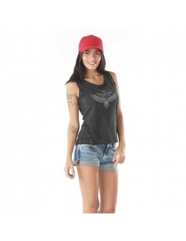 Débardeur Femme Candy Anthracite VON DUTCH