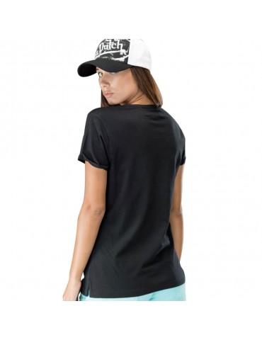 Tee Shirt Femme Basic noir VON DUTCH 1