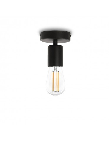 Applique Murale Design Cero C1 Noir Bulb Attack