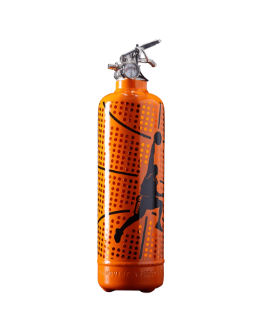 Extincteur design Basketball orange