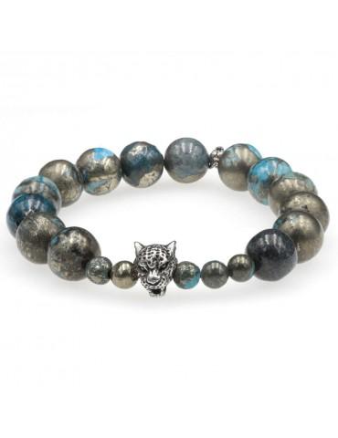 Bracelet élastique en perles Estacas