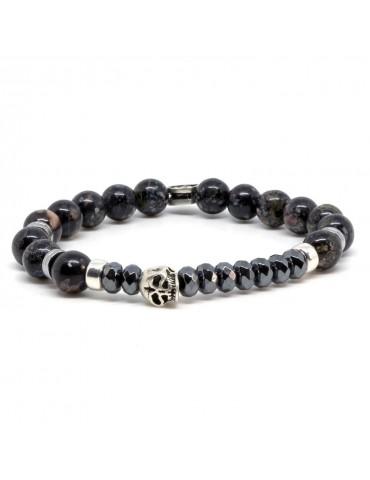 Bracelet pierres naturelles Duggan